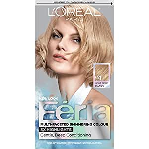 loreal feria shimmering hair color 91 champagne cocktail light beige blonde 1 ea. Black Bedroom Furniture Sets. Home Design Ideas