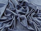 Plüsch Superweicher Stretch Cord Kleid Denim