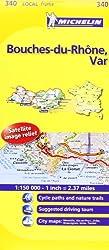 Michelin Map France: Bouches-du-rhne, Var 340