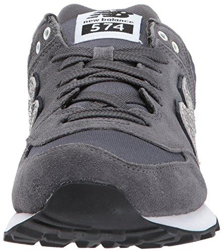 Nuovo Equilibrio Damen 574 Sneaker Grau (grigio Scuro)