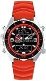 Chris Benz Uhr Taucheruhr Depthmeter Digital CB-D200-R-KBR