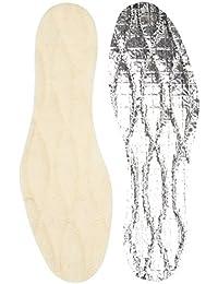A.Mulard Semelles laine vierge sur feuille aluminium, confort mixte adulte