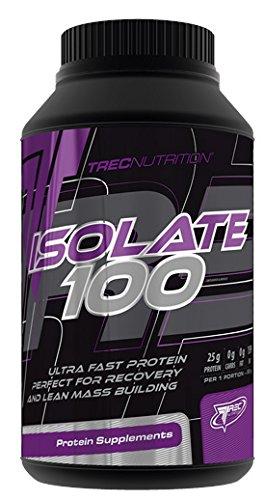 Trec Nutrition Isolate 100 Protein Eiweiß Shake Molkenprotein Pures Isolat Bodybuilding 750g Dose (Creamy Vanilla - Vanille Creme)