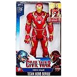 Hasbro Avengers B6177100 - Elektronischer Titan Hero Iron Man, Actionfigur