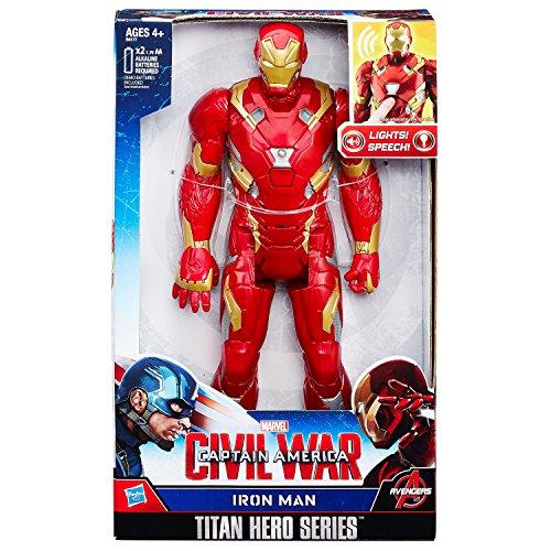 Hasbro Avengers B6177100 - Elektronischer Titan Hero Iron Man, ()