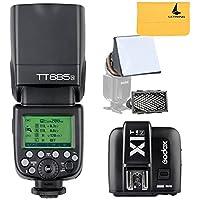 Godox TT685N 2.4G HSS i-TTL GN60 istantaneo senza fili + X1N TTL di trigger per Nikon DSLR (TT685N + X1T-N)