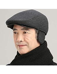 VODRWHAQ Hombre Gorras Sombrero de Mediana Edad y de Hombre Viejo a79139e71fd