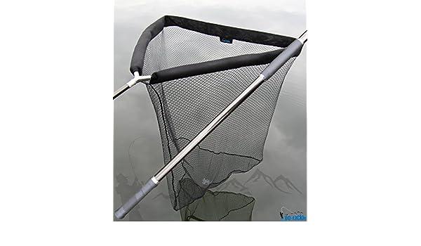 Dd tackle deluxe karpfenkescher mit auftriebshilfe 105 x 105 cm