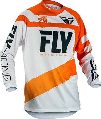 Fly Racing Jersey F-16 Orange Gr. XL - Fox Racing Jersey-stretch