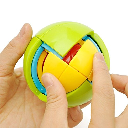 Intelligence Ball, 3D Puzzle Maze Educational DIY Toys Game For Children