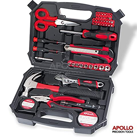 Apollo 49 Piece Home Office Garage Tool Kit including Heavy