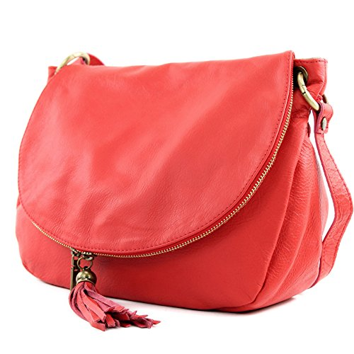 Made Italy , Sac bandoulière pour femme Rouge - Koralle