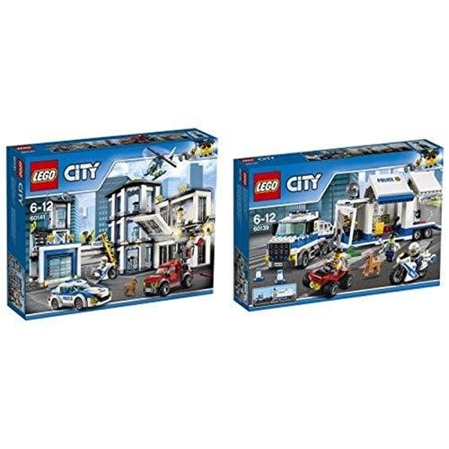 Lego City 60139 - Mobile Einsatzzentrale, Bausteinspielzeug + Polizeiwache, Cooles Spielzeug für Kinder