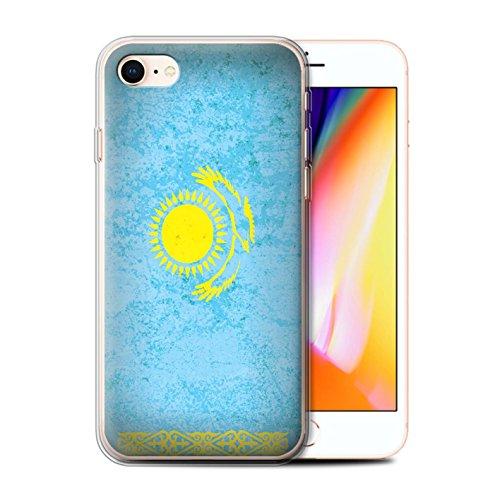 Coque Gel TPU de STUFF4 / Coque pour Apple iPhone 6S / Azerbaïdjan Design / Drapeau Asie Collection Kazakhstan/Kazakhstani