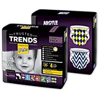 Pufies Trusted Trends Argyle - 60 Pañales, talla 4, 7-14 kg