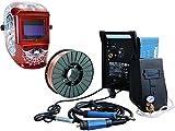 Güde Schutzgas Schweißgerät MIG 172/6W inkl. 5 kg Schweißdraht und Schweißhelm