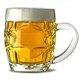 Britannia boccali di birra/285ml-Set di 4bicchieri da mezza pinta Tankard, Britannia boccale di birra