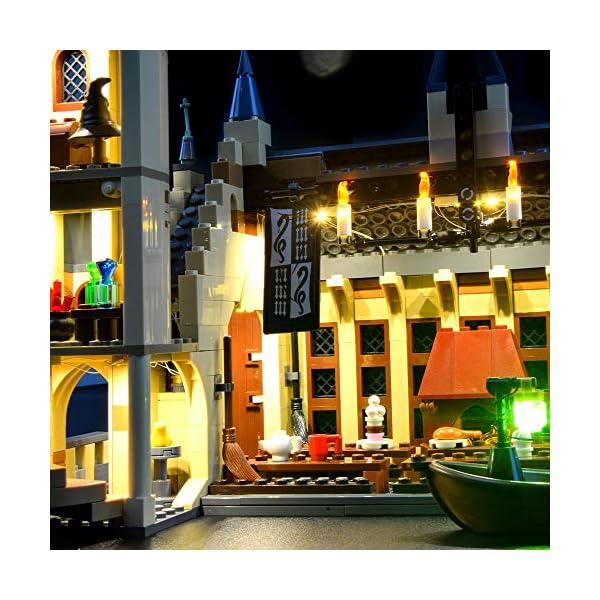LIGHTAILING Set di Luci per (Harry Potter La Sala Grande di Hogwarts) Modello da Costruire - Kit Luce LED Compatibile… 4 spesavip