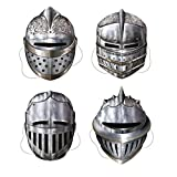 2 X Knight Masks Party Accessory (1 count) (4/Pkg)