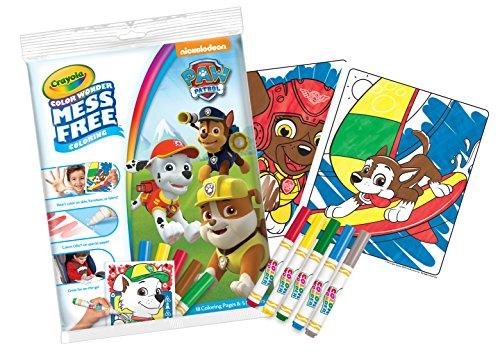 Crayola 75-2494.0054Paw Patrol Farbe Wonder Bumper Pack - Crayola Magic Coloring Book