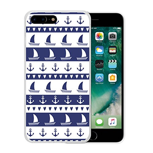 iPhone 7 Plus Hülle, WoowCase Handyhülle Silikon für [ iPhone 7 Plus ] Buddha Handytasche Handy Cover Case Schutzhülle Flexible TPU - Transparent Housse Gel iPhone 7 Plus Transparent D0239