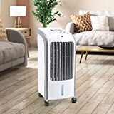 Taylor & Brown® 80W Portable Evaporative Air Cooler with Remote Control, 3 Fan