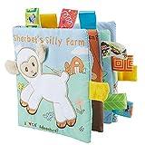 TrifyCore Bambino Libri di Panno Molle Non tossico Tessuto Primi Formazione Gioca attività Piega Libro di Panno per Il Bambino Neonati e Bambini 1pc Sheep