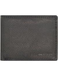 024689c745dd7 Hill Burry Herren Geldbörse   Klassisch Handgenähtes Männer Portemonnaie    Praktisch Hochwertig Kompakter Geldbeutel…