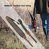 Lorenlli Outdoor Taktische Gewehrriemen Komfortable Schultergurt Erweitern Sling Verstellbarer Gürtel für Jagd Schießen Gun Zubehör