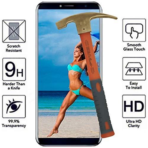 All Phone Store Displayschutz aus Hartglas 9H für Cubot X18 Plus