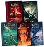 Percy Jackson and the Olympians Collection Rick Riordan 5 Books Set Pack RRP: £39.95 (The Percy Jackson and the Olympians, Last Olympian, The Battle of the Labyrinth, The Titans Curse, The Sea of Monsters, The Lightning Thief)