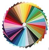 42 Farben DIY Stoff Filz Stoff Polyester handmade Filzstoff Bastelfilz Sewing Multicolore 20x30cm