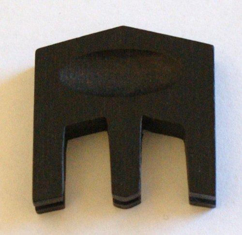 GEWA HILL Dreizack Dämpfer für Violine -- Modell aus Ebenholz für den Standardgebrauch