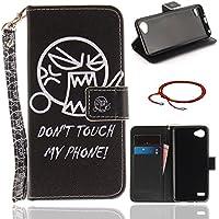 Schutzhülle für LG Q6, GOCDLJ Ultra Thin PU Leder Flip Cover Muster Tasche Ledertasche Handytasche Hülle für LG... preisvergleich bei billige-tabletten.eu