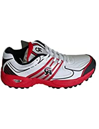 half off 61b79 9b448 CA Pro 50 Cricket Shoes Red
