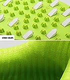 PGM Herren Golfschuhe aus weichem Leder, ultraleichte, wasserdichte und atmungsaktive Turnschuhe mit BOA-Schnürsystem,Green,UK10.5/EU45 Test