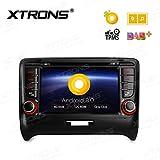 XTRONS 17,8cm Android 8.0Octa Core 4G RAM 32G ROM Auto Stereo HD Digital Multi-Touchscreen DVD Player Reifendruck Überwachung Wifi OBD2DVR für Audi TT MK2