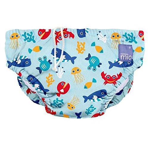 Bambino Mio Bañador Pañal Deep Sea Grande Azul 1-2Años
