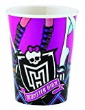 Amscan International 025 Liter Monster High 8 Tassen