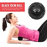 Proworks Spiky Massage Balls | Deep Tissue Trigger Point Roller Set for Muscle Recovery, Reflexology and Stress Relief - Set of 3