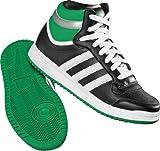 adidas Sneaker TOPTEN HI Junior schwarz Kinder Turnschuh, Größe:UK 5 (38)