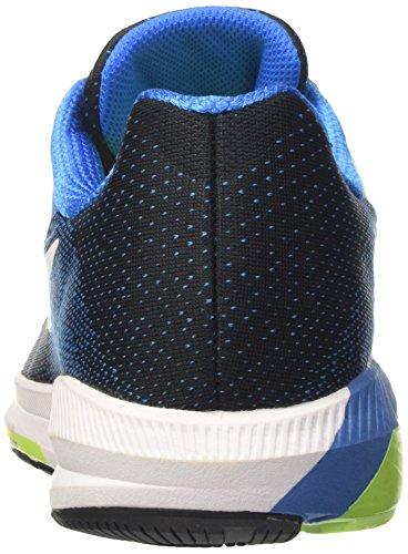 Nike 849576-004, Sneakers trail-running homme Multicolore (Schwarz/Fotoblau/Ghost Grün/Weiß)