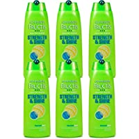 6 x Garnier Fructis Strength & Shine Fortifying Shampoo 250ml