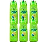 6 x Garnier Fructis Strength & Shine Fortifying Shampoo 250ml