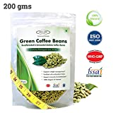 Sinew Nutrition Green Coffee Beans Decaffeinated & Unroasted Arabica Coffee -200gm for weight management