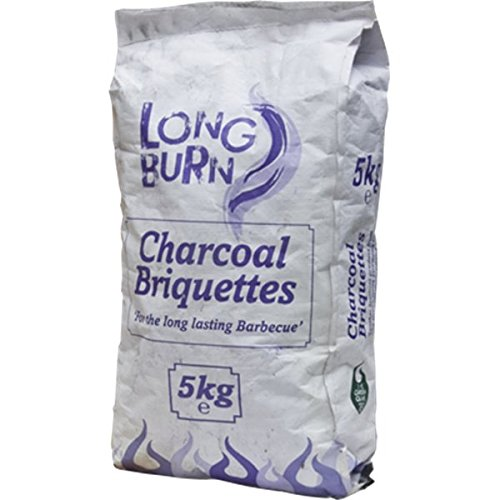Green Olive Long Burn Charcoal Briquette 5Kg Bag