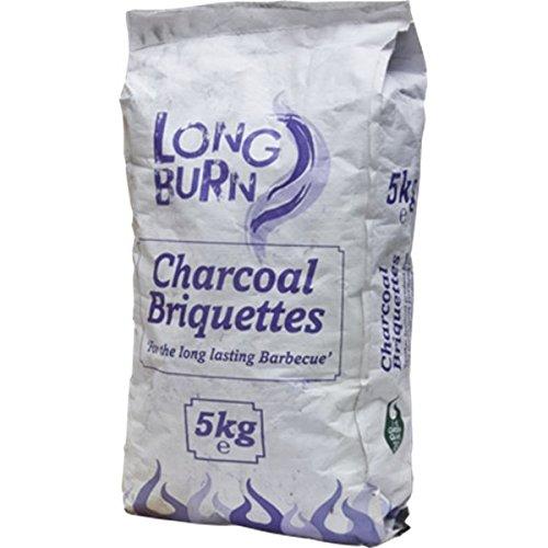 Green Olive Long Burn Charcoal Briquette 5Kg Bag