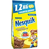 Nesquik - Cacao Soluble Instantáneo - 2 Paquetes de 1,2 kg