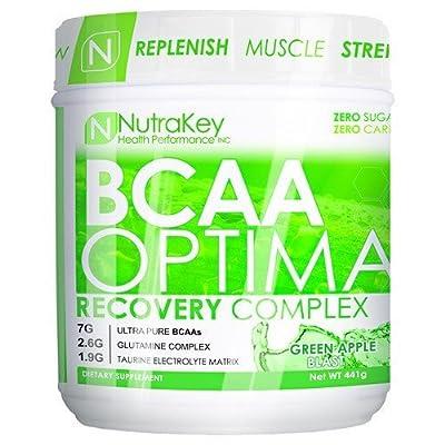 Nutrakey BCAA Optima Green Apple 30 servings by Nutrakey