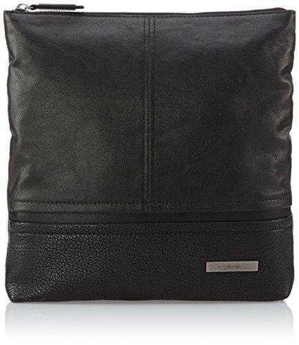 Calvin Klein Jeans Umhängetasche Force Flat Crossover Schwarz (Black) J5IJ500243 Preisvergleich